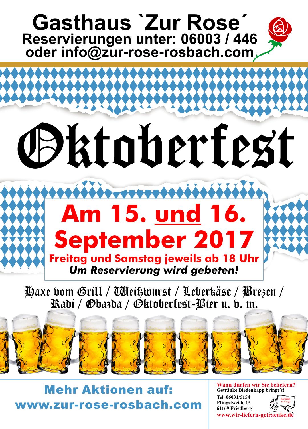 Oktoberfest2017A5 – Gasthaus \